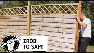 Budowa ogrodzenia drewnianego krok po kroku - Ogrodosfera.pl - wooden fence installation