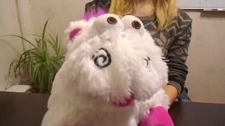 Единорог Флаффи 40 см, мягкая игрушка из м/ф Гадкий Я, обзор единорога флаффи купить в Украине