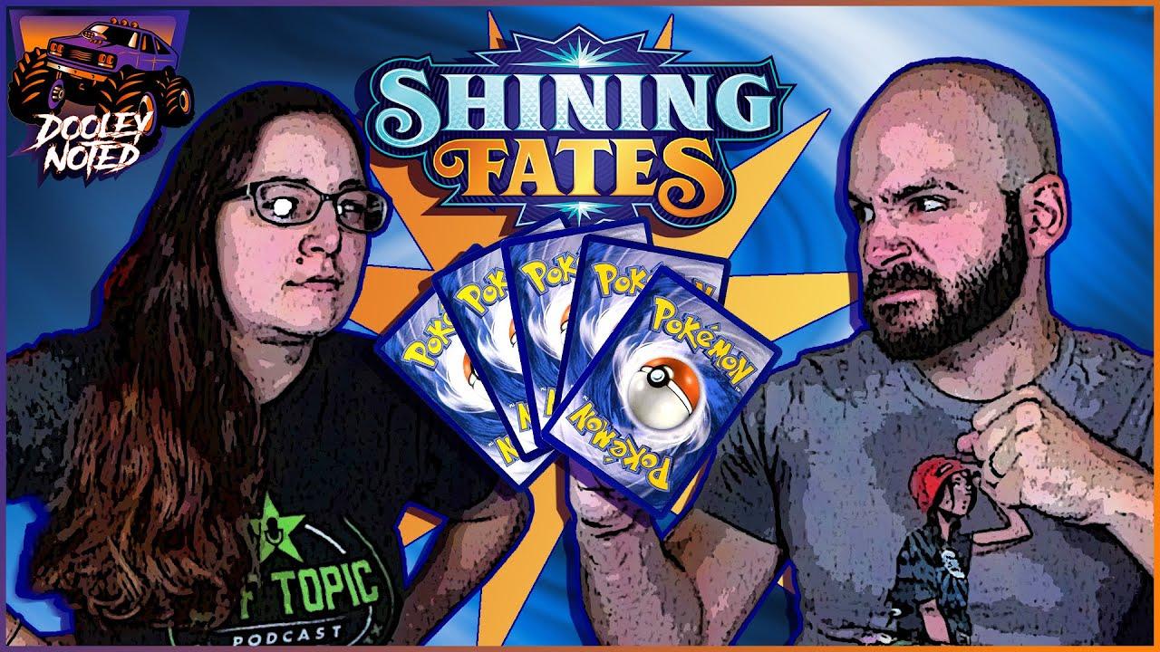 Shining Fates Pack Battle! | Jeremy vs Kat!