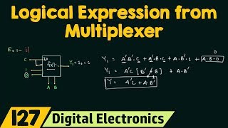 Logical Expression from Multiplexer