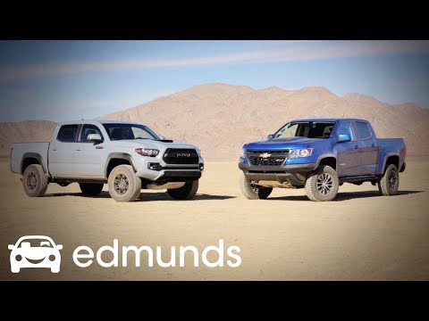 ZR2 vs. TRD Pro Climb Hype Mountain! Are They as Good as People Think?  Part I | Edmunds