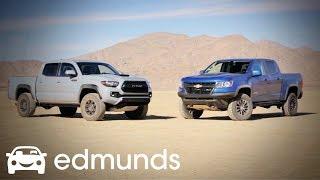 2018 Toyota Tacoma TRD Pro vs 2018 Chevrolet Colorado Part 1