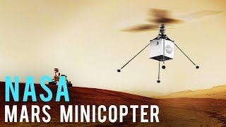 The First Helicopter to Fly on Another World