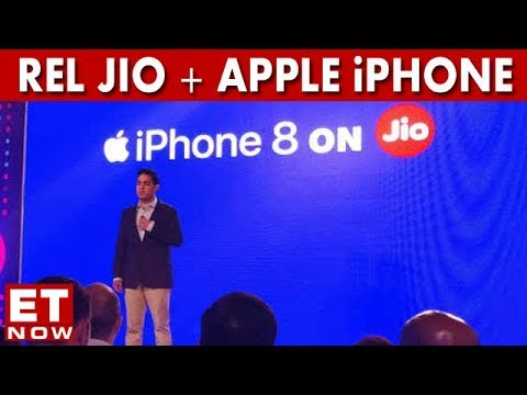 Reliance Jio Launches Apple's iPhone 8, 8 Plus In India