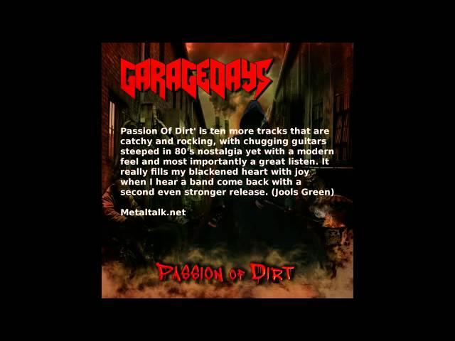GARAGEDAYS  Passion of Dirt album review
