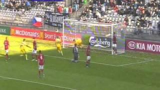 Ukraine 1-2 Czech Republic EURO U21 (Maksim Biliy)