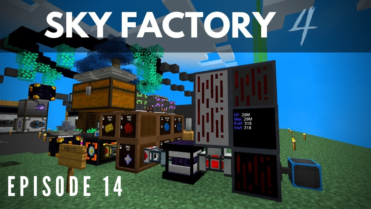 Sky Factory 4 :: Episode 14 - Power Upgrade with Nether