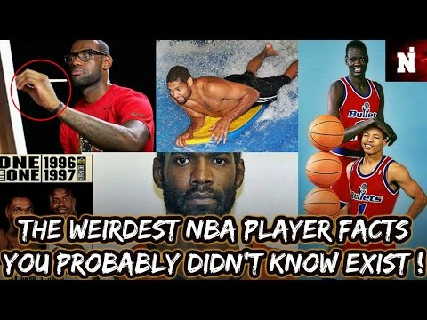 The Weirdest NBA Player Facts You Probably Didn't Know Exist (CRAZY) !