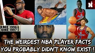 The Weirdest NBA Player Facts You Probably Didn