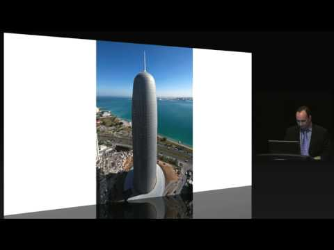 "CTBUH 11th Annual Awards - Al Duhaimi, Rakem & Terrell, ""Doha Tower: Reflecting Culture"""