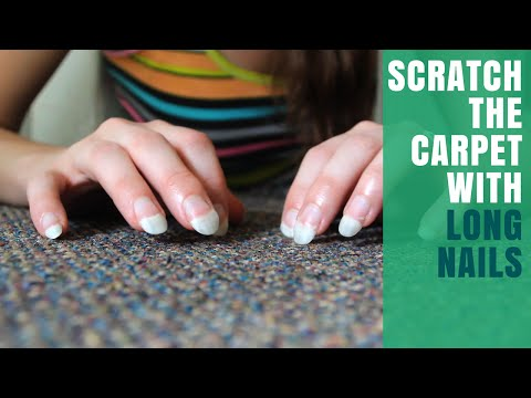 The Purity Of Carpet Scratching For ASMR Tingles & Relaxation Seekers
