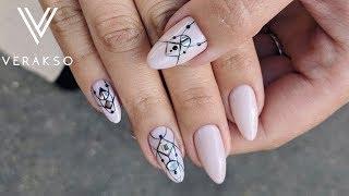 Геометрия. Стильные ногти. Маникюр. Дизайн ногтей 71
