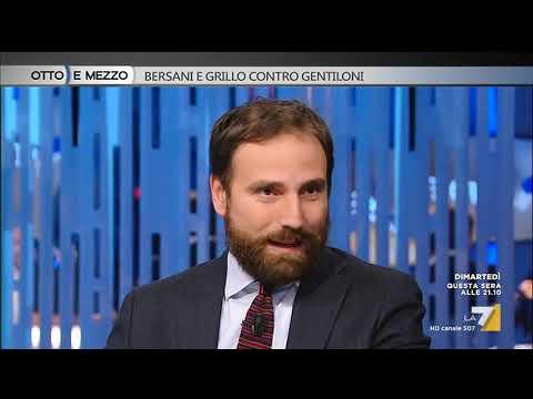 Otto e mezzo - Bersani e Grillo contro Gentiloni (Puntata 10/10/2017)