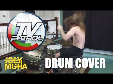 TV Patrol PH Theme Drumming! - JOEY MUHA