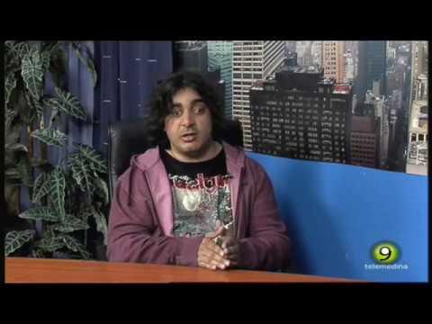 Universidad Miguel de Cervantes Comunicación Audiovisual - El alumno Jose Maria López en Telemedina