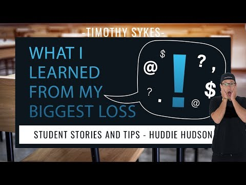 Huddie Hudson: What I Learned From My Biggest Loss