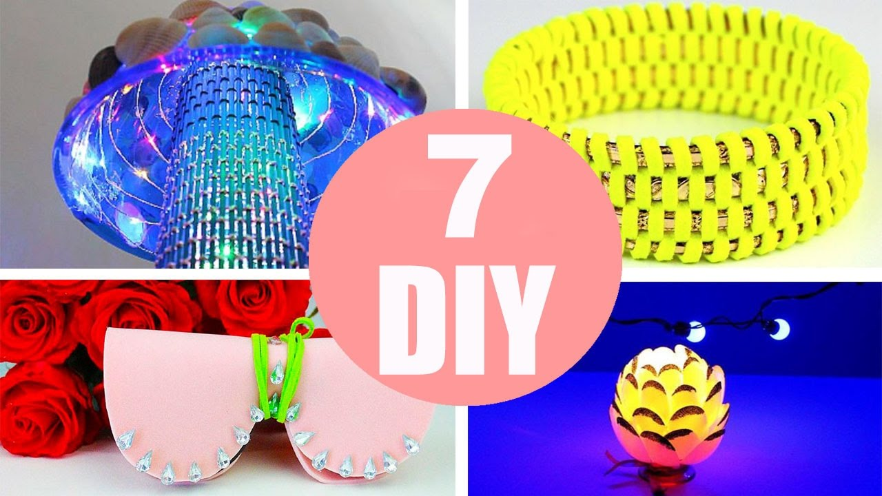 5 Minute Crafts To Do When You Re Bored 7 Quick And Easy Diy Ideas Amazing Diys Craft Hacks Youtube