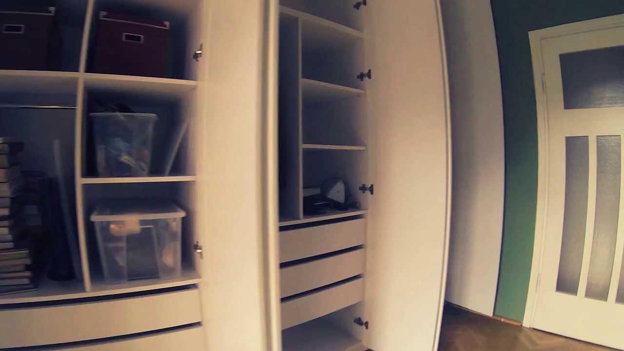 szafa wnękowa do sypialni bia�a szafawawapl youtube