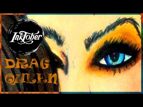 Drag Queen (#Inktober) | Astha Benevolent