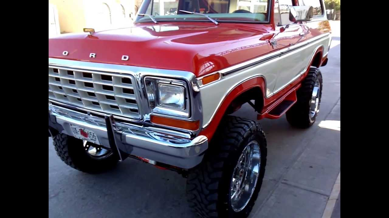 Ford Bronco 79 part. 2 - YouTube