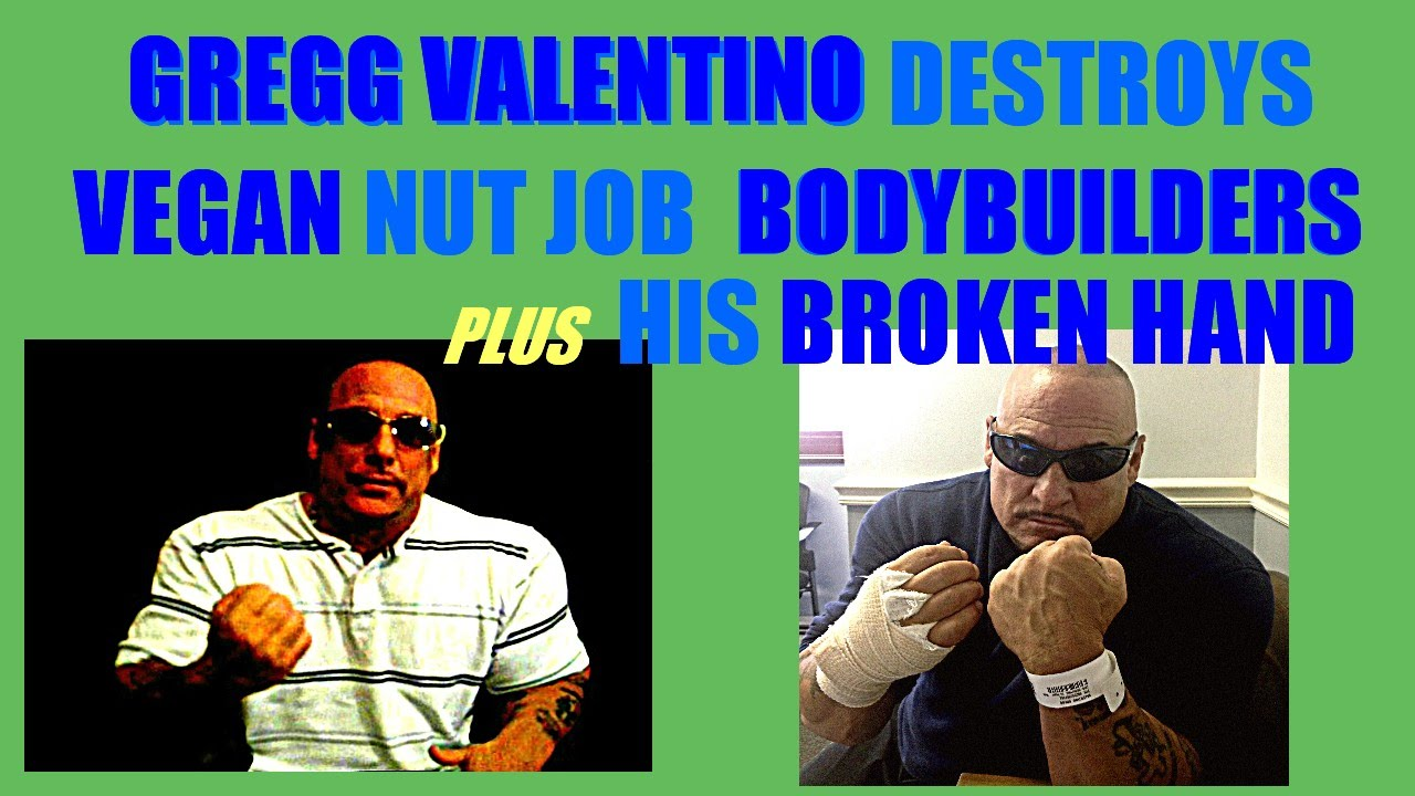 Gregg Valentino DESTROYS Vegan Bodybuilders! Watch this to the end ...