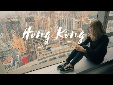 HONG KONG TRAVEL VLOG || Starting our world trip & the best views of Hong Kong || Days 1-2