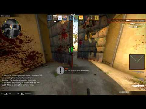 RedEyeCheats CSGO Hacking In Deathmatch