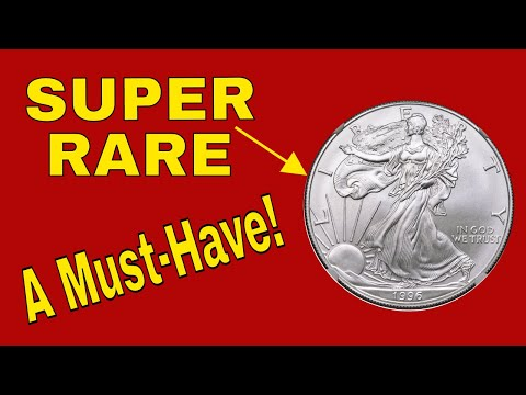 Super Rare 1996 American Eagle Silver Dollar  Worth Money!