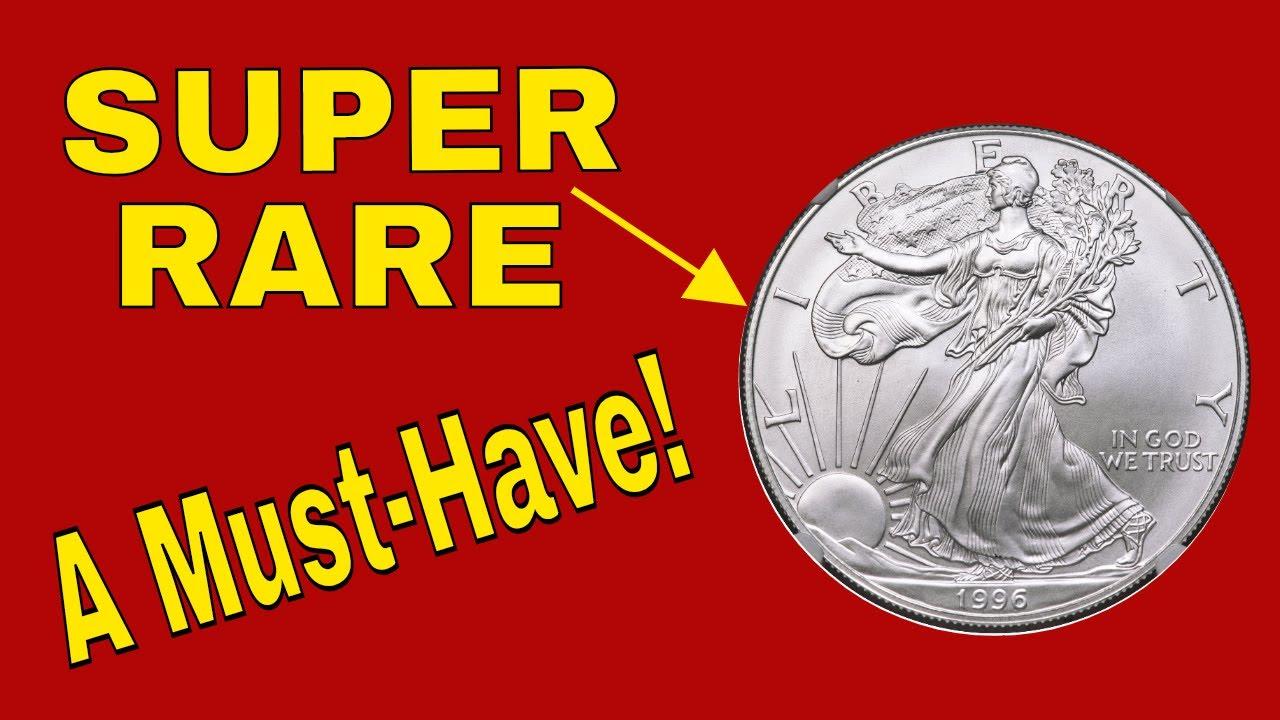 Super rare 1996 American Eagle silver dollar worth money!