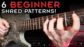 Learn To SHRED Wİth Just 6 Patterns! (Guitar Lesson + Tabs)