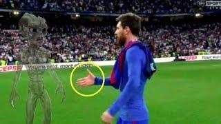 Lionel Messi tarafından yapılan nadir şeyler , dünya bunu unutmayacak .. # 1
