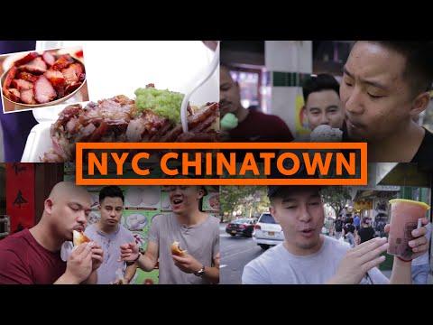 CHEAP CHINATOWN FOOD - $5 SNACKS - NEW YORK