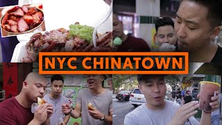 CHEAP CHINATOWN FOOD - $5 SNACKS - NEW YORK