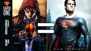 """Is Superman Earth One Basically """"Man of Steel"""""""