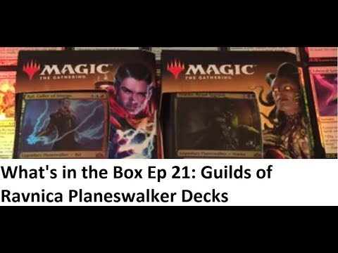 What's in the Box Ep 21: Guilds of Ravnica Planeswalker Decks