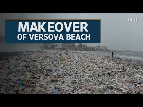 Makeover of Versova beach, Mumbai
