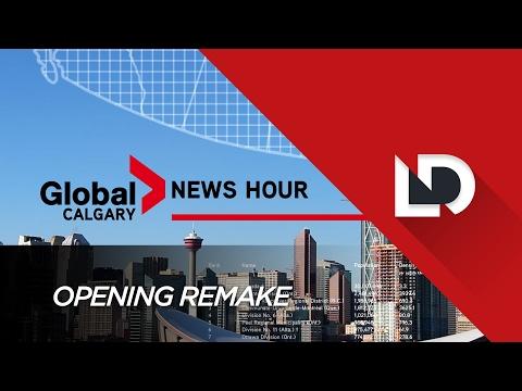Global Calgary Opening Graphics Remake
