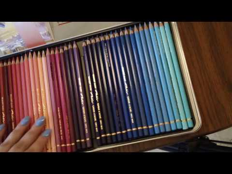 Caran D'Ache Pablo Pencils, Demo & First Impressions