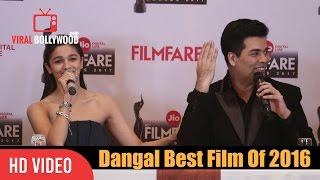 Dangal Is The Best Film Of 2016 | Alia Bhatt | Viralbollywood