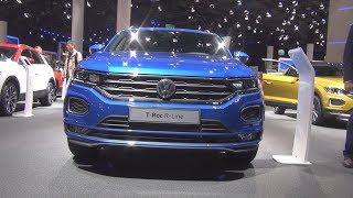 Volkswagen T-Roc Sport R-Line 2.0 TDI 190 hp (2018 рік) Зовнішня і Внутрішня