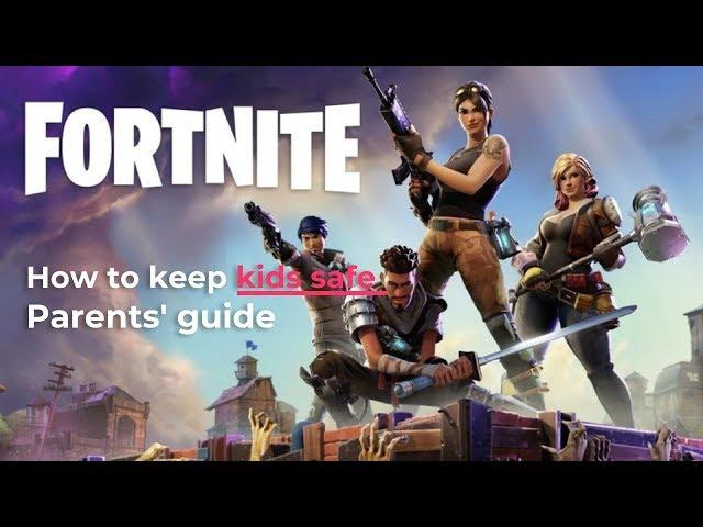 Setting parental controls on Fornite Battle Royale | Internet Matters