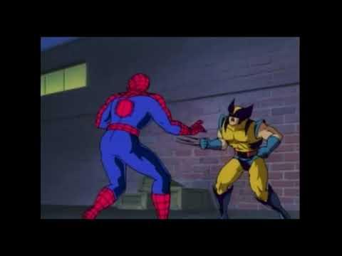 Росомаха мультфильм человек паук