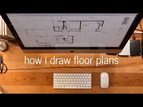 Architectural Drawing Tutorial | My process + settings