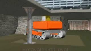 Подземные паркинги. Технология. Видеоурок