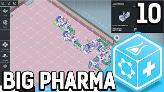 Big Pharma #10 Das wird eine schwere Herausforderung Der Pillen Fabrik Simulator BETA Gameplay