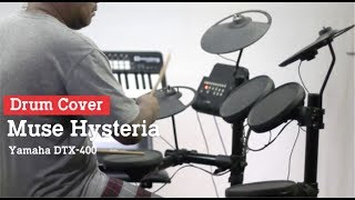 Download Video Drum Cover Muse Hysteria ( Drum Elektrik Yamaha DTX-400 ) MP3 3GP MP4