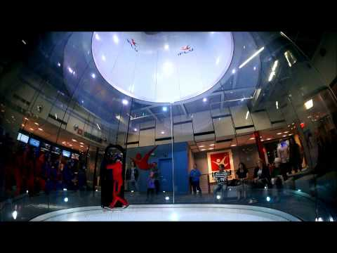 My First Indoor Skydive - iFly in Rosemont, IL