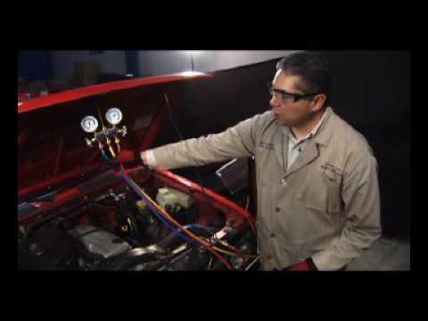 Aire acondicionado automotriz detecci n y reparaci n de - Manometro para compresor ...