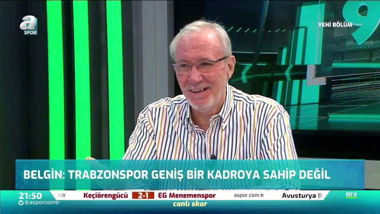 """Kemal Belgin: """"Trabzonspor Geniş Bir Kadroya Sahip Değil"""""""
