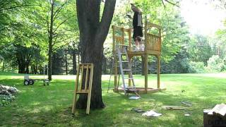 How To Build A Swing Set Part 2